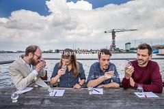 JPJ Gin test (jeanpierre.jans) Tags: alcohol drank gin beverage boose booze bottle drink fles liquor spirits test testing bartender dutch mensen nederland people thenetherlands amsterdam
