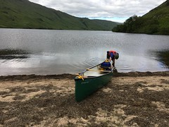 Exploring the loch (What I saw...) Tags: loch arkaig highlands scotland canoe camping wildcamping hou open