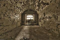 Prison Insomnia (ju.lepine) Tags: julienlépine urbex urbain urbandecay urban urbanexplorer prison photo photoshop photographenantes cellule canon canonphotography manfrotto exploration explorer