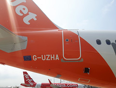 20170614_112604 (Roger Brown (General)) Tags: a320 neo new engine option is easyjets latest purchase their fleet 300th airbus purchased by easyjet has leap 1a leading edge aviation propulsion engines fitted collected from delivery centre toulouse flown via orly back luton 14th july 2017 orange roger brown canon sx610 hs