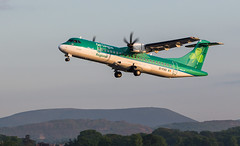 EI-FAS ATR, Edinburgh (wwshack) Tags: atr aerlingus edi egph edinburgh edinburghairport scotland stobart turnhouse eifas