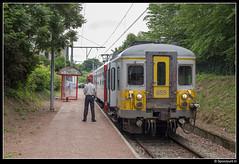 NMBS 659 - R 5011 (Spoorpunt.nl) Tags: 18 juni 2017 nmbs ms66 klassiek motorwagen 659 trein r 5011 station gare spa géronstère