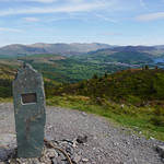 Cairn at summit of Dodd thumbnail