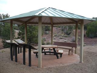 Stateline Campground - Interpretative display on the Arizona Trail
