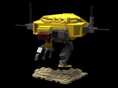 Hiigaran Resource Collector by Nick (Paulygons) Tags: hiigaran resource collector machine lego mini homeworld game 3d ship robot moc render digital designer studio virtual space science fiction