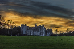 Castle sunset. (jacco55) Tags: blurred mediumquality ireland balbriggan dublin fingal castle sky