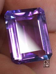 Amethyst repair Before & After (Peter Torraca) Tags: torraca amethyst beforeafter recut repair