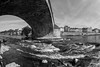 La LOIRE (http://www.jeromlphotos.fr) Tags: orléans loire loiret 45 noirblanc blackwhite eau water fleuve bridge pont pontroyal canon eos 5dmarkii fisheye 15mm flickrdiamond