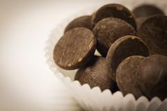 Macro Chips (Karon Elliott Edleson) Tags: chips macro mondays chocolatechips macros macromondays challenge baking semisweet cookies macrodesserts macrophotography
