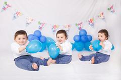 Happy Bithday (Tiziana de Martino) Tags: birthday first boy blue white background children baloons party canon