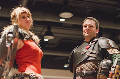089 (Fearless Zombie) Tags: howtotrainyourdragon astrid hiccup cosplaycontest ggc ggc2015 geekgirlcon seattle costumeplay costumes fall cosplay geekgirlcon2015