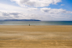 The lonely one (christophe.laigle) Tags: silverstrand plage irlande sandy galway silverstrandbeach connemara beach ireland