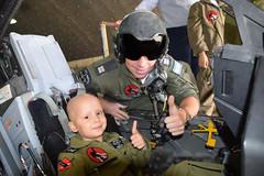 Children Battling Cancer Hosted at Ramon AFB (Israel Defense Forces) Tags: battle cancer kids children fighterjets fight fighting disease f16 f16i ramon afb pilot iaf israeliairforce doing good
