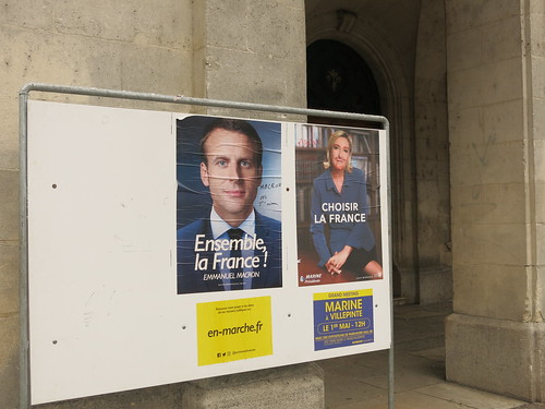 Election posters, France