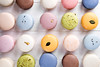 Traditional colorful french macarons (lyule4ik) Tags: biscuit cake french macaroons sweet snack food delicious cookie dessert france tasty traditional color bakery gourmet flavor chocolate background pink confectionery brown cuisine row coffee assorted green yellow assortment colorful confection nobody orange pastry candy sugar box bake calories closeup gastronomy horizontal lemon pistachio sandwich specialty strawberry