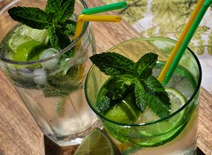 Mint Mojito (toddvic) Tags: mojito mint drink ice lime summer