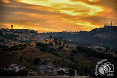 Tramonto a Roseto Capo Spulico (baridue) Tags: tramonto sunset colori colours natura sole mare collina roseto regione regionecalabria capo spulico ionio marionio