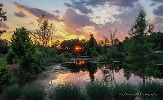 Sunset @ Brick Pond Park