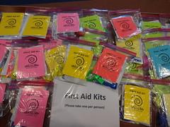 Gira de Libro First Aid Kits (San José Public Library) Tags: sanjosélibrary sanjosé california libslibs librariesandlibrarians 365libs ilovelibrariesorg modelrelease publiclibrary programs children adults teens bicycle giradelibro outdoor