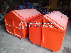 Kontainer Bak Sampah Plat Besi Dan Fiberglass FRP (Ramdhani Jaya) Tags: kontainer sampah news bak fiber karoseri