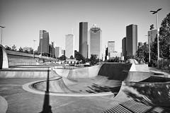 Where the City Ends (minus6 (tuan)) Tags: minus6 leicamonochrom elmarit 28mm houston leeandjoejamail skatepark