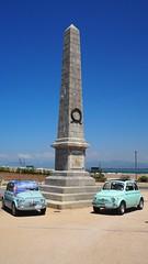 Fiat 500 on the Beach... (Sir Willy) Tags: fiat 500 italian car 4whell 4piccoleruote garlenda torino grande auto 12 pollici cinquinisbiellati cascina marinadipisa mare raduno 500clubitalia abarth