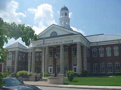 The Allen County Judicial Center, August 1,2016 (rustyrust1996) Tags: allencounty scottsville kentucky judicialcenter courthouse