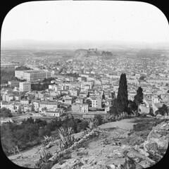 Άποψη της Αθήνας από τον Λυκαβηττό. (Giannis Giannakitsas) Tags: αθηνα athens athen aten greece grece griechenland 19th century 19οσ αιώνασ