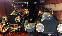 1910 Thomas Flyer 6-70 and 1907 Fiat Tipo 50/60 (AntyDiluvian) Tags: boston massachusetts brookline larzanderson automuseum vintagecars vintageautos vintageautomobiles cadillacday 1910 thomasflyer 1907 fiat tipo