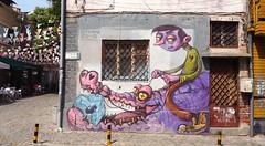 Graffiti in Kapana (borisvasilev) Tags: graffiti bulgaria bulgarian plovdiv plovediv travel travelolympus olympus art street streetart urban kapana digitalphotography europe easterneurope colours colourful color colors borissnima