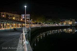 Paseo del Arenal, Areatzako Pasealekua, Bilbao
