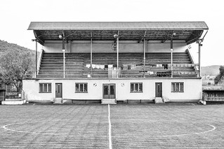 Football stadium of Ajnácskő