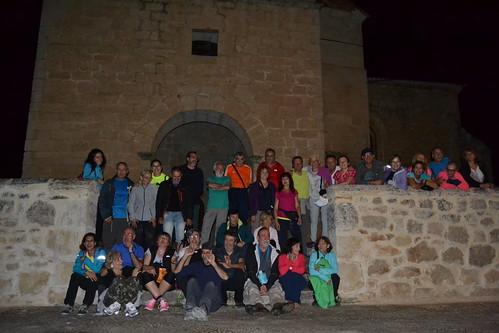 Marcha nocturna de Senderismo por Burgos Fotografia Maria Jesus (7)