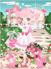 _[20170529-0813_[526682] (Nicotto Yume) Tags: strawberry メイド いちご pink ピンク