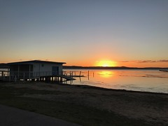 Long Jetty Sunset (Ian Rimmer) Tags: nsw iphone7 centralcoast longjetty sunset