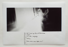 lessons learned (Shuji Moriwaki) Tags: print text writing conversation black white film inkjet exhibition time lessons learned creepy smile lemon ramen rabbit