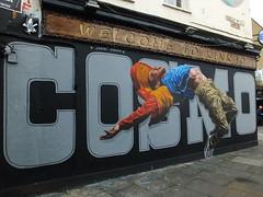 Street Art Shoreditch (DJLeekee) Tags: streetart london graffiti shoreditch bricklane cosmo sarson