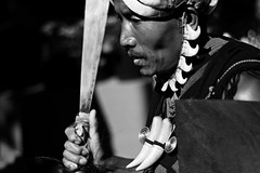 Not to be messed with (abrinsky) Tags: india nagaland kohima hornbillfestival hornbill2016