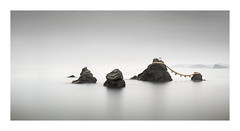 Kazoku (Rohan Reilly Photography) Tags: minimal minimalism longexposure meotoiwa ise japan weddedrocks rrsignature fineartireland