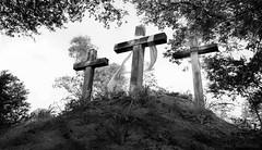Strength (JDS Fine Art Photography) Tags: bw cross trinity religious inspirational strength faith hope