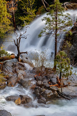Confluence (Jeffrey Sullivan) Tags: waterfalls yosemitefalls yosemitenationalpark yosemite valley village mariposacounty california united states usa nature landscape travel photography workshop canon eos 6d photo copyright sullivan may 2017 jeff national park tamarack creek cascadecreek waterfall
