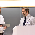 Dan Hyde, Mabel Kirkpatrick Hohenboken Award, Robert Wickesberg, Associate Head & Director of Undergraduate Studies