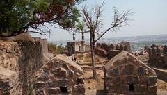 Golkonda Fort, Hyderabad (komal chougule) Tags: fort hyderabad ancient old historical gems architecture castle