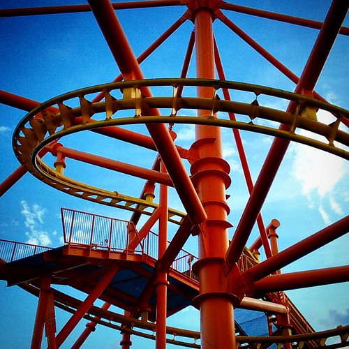 Did i mention how much i love man made structures?   #pbpenycat #penycat #rollercoaster #carowinds2017 #carowinds