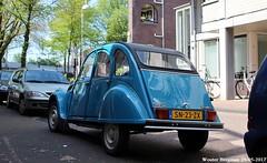 Citroën 2CV 1987 (XBXG) Tags: sn23zx citroën 2cv 1987 citroën2cv 2pk deuche deudeuche eend geit 2cv6 club bleu blue blokmakerstraat amsterdam nederland holland netherlands paysbas vintage old classic french car auto automobile voiture ancienne française vehicle outdoor