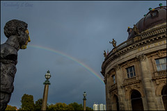 Spitting Rainbow (KSDiaz) Tags: berlin germany travel architect architecture historical museum statue