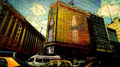 loca ciudad (ojoadicto) Tags: ciudad city buenosaires digitalmanipulation pictorico autos calle street edificios buildings traffic artisticphotography