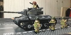 Twilight of the Chuggin' C [Remake] (BPheenz93) Tags: tank lego afol military model armour vehicle brickmania brickarms army
