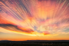 Sunrise Over Time (inlightful) Tags: sunset sunrise morning evening dusk dawn sky clouds weather outdoors nature rural southwest socorrocounty newmexico timestack
