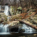 Lower Whiteoak Falls. Shenandoah National Park